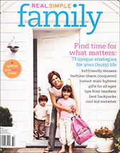 Dr. Levine In Real Simple Family Magazine